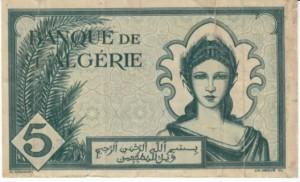Algeria915Francs1942