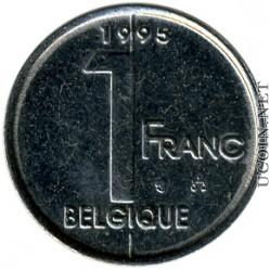 belgium_1_belgian_franc_1995